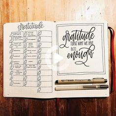 And they work year-round, so you can keep practicing gratitude long after the holiday celebrations are over. #bulletjournal Bullet Journal Gratitude, Bullet Journal Notebook, Bullet Journal Inspo, Bullet Journal Layout, Bullet Journals, Bible Bullet Journaling, Bullet Journal Ideas Templates, Goal Journal, Journal Template