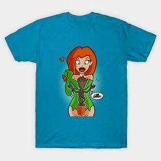 Ivy & Groot T-Shirt - Poison Ivy T-Shirt is $13 today at TeePublic!