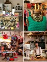 10 London Vintage Stores That NEED To Be On Your Radar #refinery29  http://www.refinery29.com/london-vintage-shopping#slide-10  The Vintage Emporium Cafe — Brick Lane might be crammed with retro stores, but this place really stands out. Run by two fashion historians, The Vintage Emporium Cafe is the place for rare period clothing from the Victorian era up to the 1950s. The ground floor doubles up as a Victorian parlour, where you can contemplate the state of your bank balance over a decent…