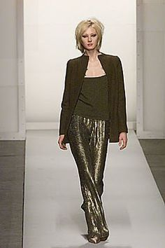 Oscar de la Renta Fall 2000 Ready-to-Wear Fashion Show Collection