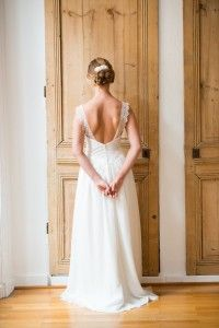 Aurélia Hoang dress | dress Fangio | Wedding Gowns Collection 2015  photography by Cécile Cayon