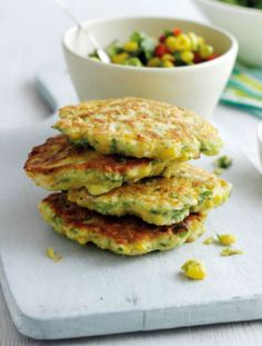 These crispy sweetcorn fritters pack a fiery punch and take seconds to make.   Tesco