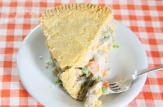 {Deep Dish} Chicken Pot Pie - Not JUST A Housewife