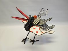 Sally Prangley Assemblage Art, Sally