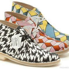 eley kishimoto for clarks originals desert boots--spring-summer-2013