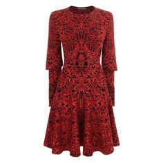 Glory Jacquard Knit Dress Alexander McQueen | Mini Dress | Dresses |