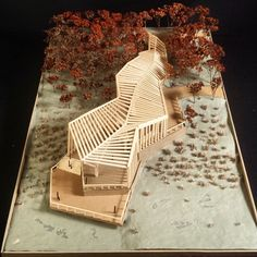 architecture in landscape pathway Maquette Architecture, Pavilion Architecture, Concept Architecture, Amazing Architecture, Landscape Architecture, Interior Architecture, Sustainable Architecture, Residential Architecture, Contemporary Architecture