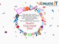 @vcreate wishes you a #happy #teachers #day #teachersday