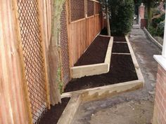 Kings Lynn's raised bed transformation with new railway sleepers
