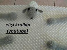 Bobble Crochet, Manta Crochet, Chrochet, Free Crochet, Crochet Blanket Patterns, Baby Blanket Crochet, Baby Knitting Patterns, Crochet Flower Tutorial, Crochet Flowers