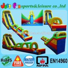 2014 commercial water slides inflatables/giant bouncy slide/giant inflatable slide $1850~$2400