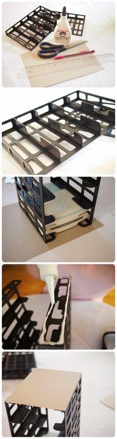 Eine wunderbare Stempelkissenaufbewahrung für Stempelkissen von Stampin´ Up komplett kostenlos!   Ich habe das Stempelkissenregal in zwei v...