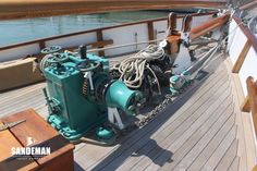 Philip and Son 60 ft Auxiliary Gaff Ketch 1937 - Sandeman Yacht Company Anchor Systems, Double Bunk, Classic Yachts, Guest Cabin, House Deck, Plate Racks, Composite Decking, Deck Furniture, Douglas Fir