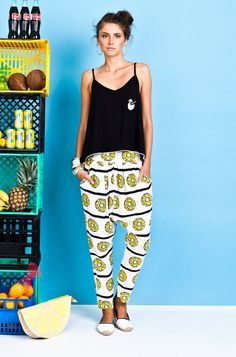 Coconuts for Breakfast - Fashion Journal Tracksuit Pants, Summer Lookbook, Cami, Harem Pants, Capri Pants, Chips, Cocktails, Coconuts, Stylish