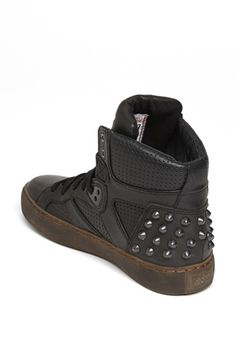 Ash 'Skunk' High Top Sneaker... i can rock these, IM UH BOSS!