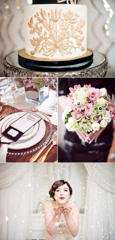 Love these colors! so romantic, but edgy