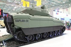 FNSS Kaplan next-generation armored combat vehicle apc