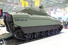 FNSS Kaplan next-generation armored combat vehicle apc