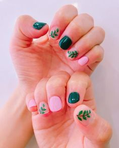 Express the collective Millennial love for plants and greenery with this rainforest nails trend—you'll be all set for the best summer ever!