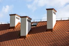 Roof Cap, Chimney Cap, Garage Doors, Mansions, House Styles, Building, Outdoor Decor, Home Decor, Decoration Home