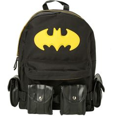 DC Comics Batman Suit-Up Backpack | Hot Topic ($23) ❤ liked on Polyvore featuring bags, backpacks, accessories, backpack, bags and wallets, knapsack bags, backpacks bags en rucksack bag