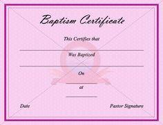 Christian baptism certificates blank printable baptism christian baptism certificates blank printable baptism certificates church baptism certificate pinterest yelopaper Choice Image