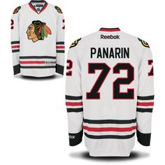 BLACKHAWKS NEW STAR ARTEMI PANARIN WHITE AWAY JERSEY Blackhawks Players d40d7ee20806