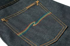 Nudie Jeans x Oi Polloi Grim Tim Rainbow Warrior