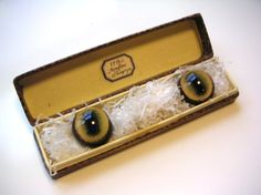 antique taxidermy glass eyes  french sheep eyes mouton