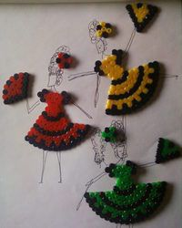 Spanish ladies perler