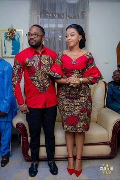 Couples African Outfits, African Dresses For Kids, African Wear Dresses, Latest African Fashion Dresses, Couple Outfits, African Print Fashion, African Attire, African Shirts For Men, Dress Outfits