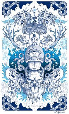 Impressive illustrations by Burak Sentürk