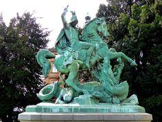 St George and the Dragon - Zagreb, Croatia