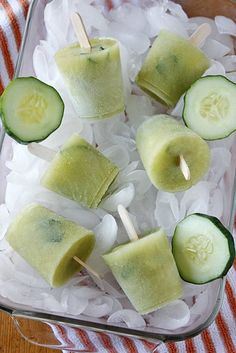 Kids | Cucumber Pops