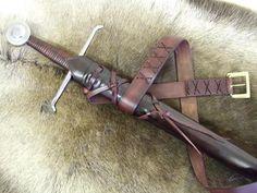 14th Century EDC - Arming sword scabbard