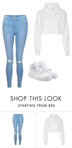 """""""Untitled"""" by staylookinggood ❤ liked on Polyvore featuring New Look, River Island and NIKE"""
