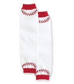 Baseball Leg Warmers with no chiffon ruffles  sparkleinpink.com