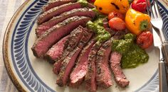 Check out this delicious recipe for Argentinian Skirt Steaks with Chimichurri from Weber—the world& number one authority in grilling. Ribs Au Barbecue, Bbq Beef Ribs, Ribs On Grill, Barbecue Sauce, Chimichurri, Grilling Recipes, Meat Recipes, Cooking Recipes, Grilling Ideas