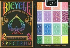 Bicycle Spectrum Playing Cards 2-Pack