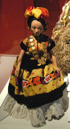 Tehuana Doll Mexico | Flickr - Photo Sharing!
