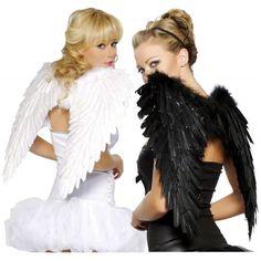 Costume Wings for Adult or Teen Dark Fallen Angel Raven Halloween Fancy Dress   eBay