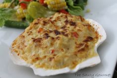 The Saucy Gourmet: Crab Imperial with Red Peppers