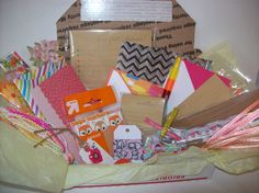 Surprise Goody Box -Planner and Pen Pal Kit (Stationery, Planner & Pen Pal Supplies)