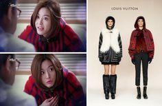 Jun Ji-hyun (Gianna) / Cheon Song-yi fashion Louis Vuitton 2014 Pre-Fall Icon Collection