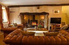 49 elegant whimsical living room decor ideas home дом, камин Living Room Decor Fireplace, Cottage Fireplace, Inglenook Fireplace, Open Fireplace, Fireplaces, Cottage Living Rooms, Cottage Interiors, Living Room Modern, Home Living Room