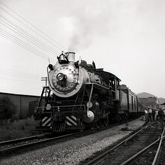 Built 1904 by ALCo at Richmond Locomotive Works (just down the street a ways). Bought from Southern by ETWNC in 1952. Pulled freight  between Johnson City and Elizabethton, TN until 1968. I heard this train roar by almost daily from the time I was 2 yrs old until I graduated high school.  I crossed the tracks to get to school.  Hopefully July 8, 2012 I'll be able to ride it from Johnson City to Knoxville as it returns to the area, for the first time since leaving 44 years ago.