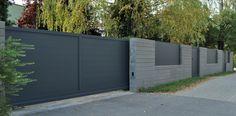 Pełne ogrodzenie aluminiowe nieprzejrzyste