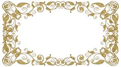 Vintage Tags, Vintage Frames, Molduras Vintage, Backrounds, Gold Lace, Clipart, Backdrops, Projects To Try, Diy And Crafts