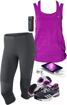 """Going for a Run"" by tajarl on Polyvore"