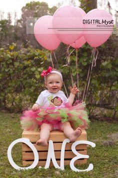Melissa Calise Photography 1st Birthday Girl Elmo Photoshoot Ideas